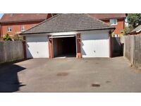 Modern, dry single garage with up & over door. Light & power. Size: 8ft 9ins x 17ft 6ins. IP28 8FR.
