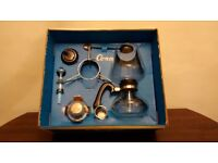 Cona coffee gift set in immaculate condition