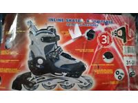 Boys Rollerblades Size 12 New Christmas Gift
