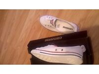 converse trainers white' size 3 new