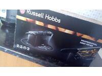 Russel hobbs deep fat fryer in black *new