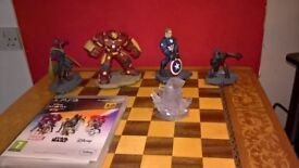 Disney infinity 3 marvel figures and level pack