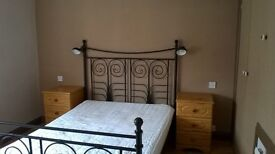 ROOM FOR A COUPLE,Big Double room, in a nice house, on a good bus route to city centre