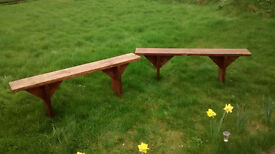 Two Benches, can be used indoor or outdoor