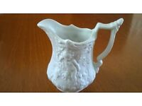 A Vintage Portmeirion Parian Jug In Mint Condition With Reclining Cherubs As Pictured .