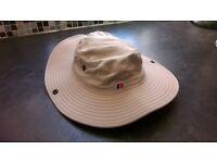 BERGHAUS khaki sun hat, packs flat, never worn