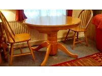 2 antique pine chairs to be collected from W9 3HF.