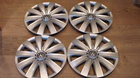 """4 X VW TRANSPORTER T5 WHEEL TRIMS MAY FIT OTHER VEHICLES 16"""""""