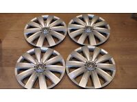 4 X VW TRANSPORTER T5 WHEEL TRIMS MAY FIT OTHER VEHICLES 16""