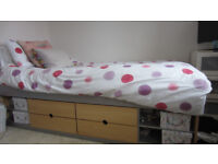 Cabin bed suitable for child and early teens