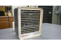 Used Redring wall mounted fan heater