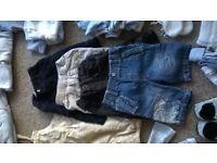 Large bundle quality baby boy clothes 0-6 months.