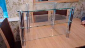 Glass TV unit (Cornor)