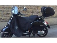 Vespa Gts ie super 300cc but registered as a 125 2010