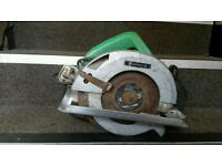 For sale circular saw Hitachi 240v with 2 metres of cable no time wasters pls?