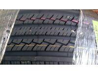 2 x 235/60 x 16 tyres, brand new
