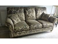 Fabulous traditional style sofas. As new condition.