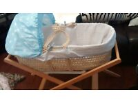 moses basket as new blues