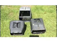 Petrol mower grass boxes - choice of 3 - £10 each