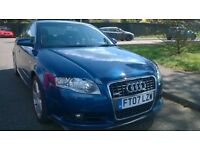 AUDI A4 2.0 TDI S LINE FABULOUS CAR WITH SAT NAV F/S/H