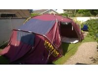 KHYAM RIDGI-DOME TENT 8 BERTH AND ACCESSORIES FOR SALE