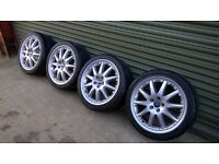 Ford 18 inch Alloy wheels Excellent condition + Tyres , Transit Connect, Focus, Mondeo, C max, S max