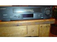 Sharp VC M271 Video Plus recorder / player (also VHS collection 150+ videos available)