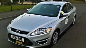 Ford Mondeo private hire taxi plated