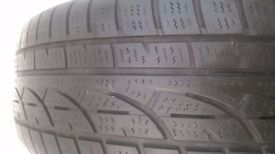 195 x 55 x 15 Winter tyres on Citroen Xsara metal rims - £30 pair