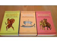 Alexander: Child of a Dream, The Sands of Ammon & The Ends of the Earth (3 Books)