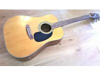 Electro Acoustic Dreadnought Guitar by Artist Full Size