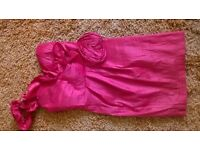 Red dress by Rage, ideal for prom or wedding. Size 8