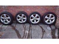 """Vauxhall Astra J GTC SRI 17"""" Alloys Wheels PCD 5 X 115"""
