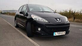 Peugeot 207 for sale. Bargain. MOT for 11 months. 2 sets of car keys. Low mileage