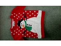 Child's Christmas jumper age 5-6