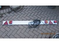 6 ft trailer lighting board used once