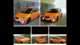 Focus st st2 electric orange vxr gti gtd tfsi sti evo from m3 evo sport type r px swap