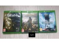 Xbox one games for £15
