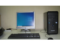 ZooStorm intel G860, Dual-core 3.0 GHz, Wins10 Pro, 4Gb Rams, LCD, full setup £60