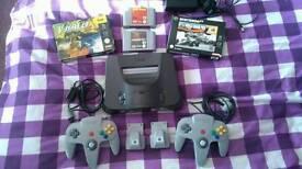 Nintendo 64 plus games