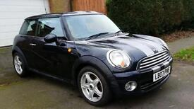 2007 MINI COOPER 1.6 BLACK **SERVICE HISTORY 2 KEYS**