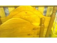single pine , childs bed