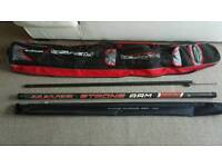 Maver abyss xseries rod bag and maver strong arm 1100 11ft pole