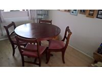 *** DINING TABLE & CHAIRS ***