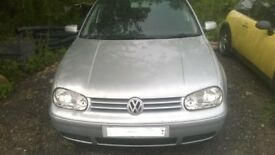 VW Golf (2003) mk4 O/S Headlight -IN VERY GOOD CLEAN USED CONDITION!