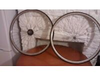 Road Bike Wheels (for fixie or replacement e.g. racer, vintage, commuter, 700c )