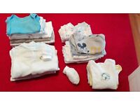 Baby Boy Bundle of vest and Baby grows
