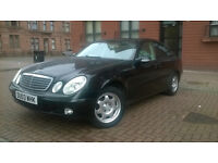 Mercedes E class Black & Cream 2.1 Diesel only for £1995.00 ONO