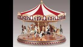Musical fair carousel .