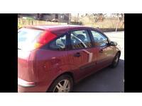 Focus 1.6 Zetec petrol 2002 12 month mot 128k 5 door pics to follow